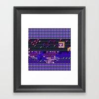 > NES V2 Framed Art Print