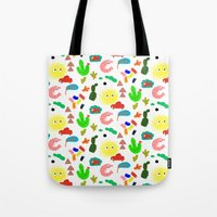 Shrimp Tote Bag