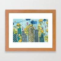 Livin' In The City  Framed Art Print