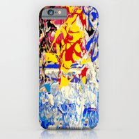 Abstract painting  - Sunset over The Sea iPhone 6 Slim Case