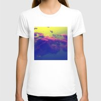 Cotton Candy Womens Fitted Tee White SMALL