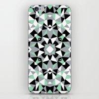 Abstract Kaleidoscope Mi… iPhone & iPod Skin
