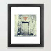 In(come) Framed Art Print