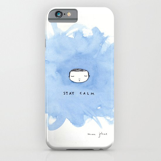 Stay calm iPhone & iPod Case
