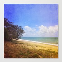 Beautiful Day by the Sea Canvas Print