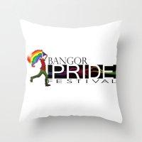 Bangor PRIDE Festival 20… Throw Pillow
