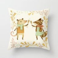Cheers! From Pinknose Th… Throw Pillow