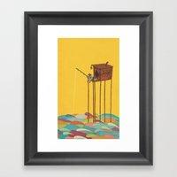 The Great Flood Framed Art Print