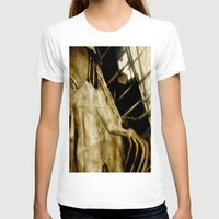 The Creature Womens Fitted Tee White SMALL