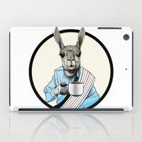 Java Llama iPad Case