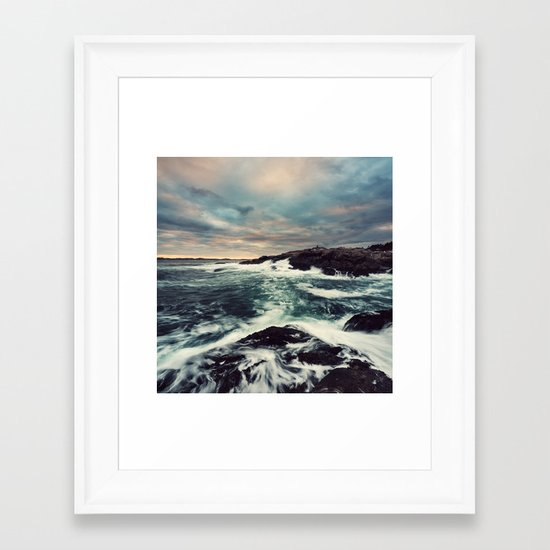 Internal Colours Framed Art Print