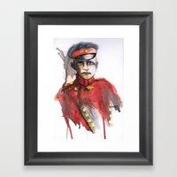 Le Petit Rouge (Little R… Framed Art Print