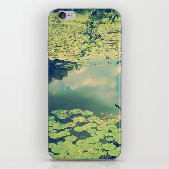 Lily Pad Pond iPhone & iPod Skin