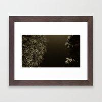 under night Framed Art Print