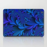 Blue  iPad Case