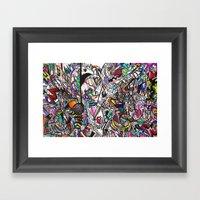 Web Of Tricks Framed Art Print