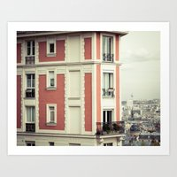 House On The Corner Art Print