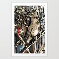 The Nightingale And The … Art Print