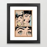 Don't You Dare Hang Up O… Framed Art Print