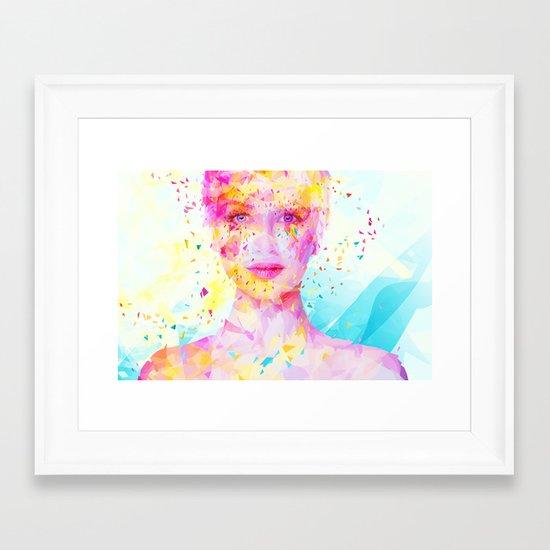 Turquoise Framed Art Print