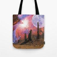 Nebula Desert Collage I Tote Bag