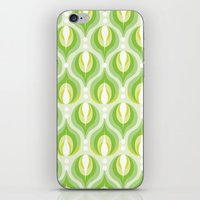 Green Dew Drops iPhone & iPod Skin