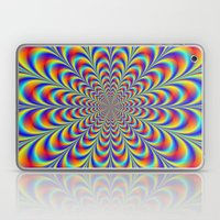 Blue Red And Yellow Rose… Laptop & iPad Skin