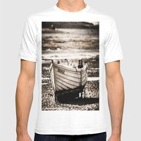 Dreadnought Mens Fitted Tee White SMALL