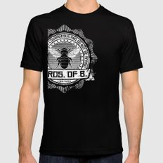 Bros. of B. Dark Black Mens Fitted Tee SMALL