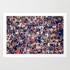 People of Berlin Art Print