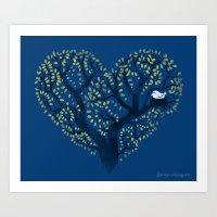 Home Is Where The Nest I… Art Print