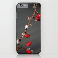 iPhone & iPod Case featuring Ruby Red, Christmas, Winter by 8daysOfTreasures