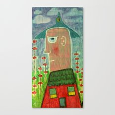 Make a Little Birdhouse in Your Soul Canvas Print
