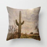 Saguaro Throw Pillow