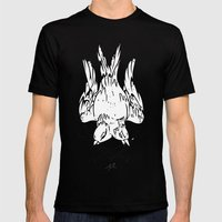 Two Bird Mens Fitted Tee Black SMALL
