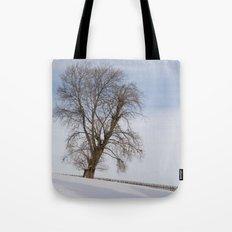 In white Tote Bag