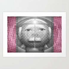 Flumercury Woman Art Print