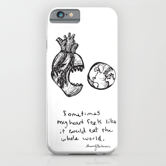 for the heart-hungry iPhone & iPod Case