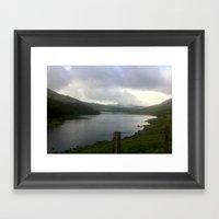 Snodonia National Park Framed Art Print