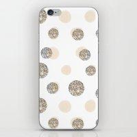 POIS CHIC WHITE iPhone & iPod Skin