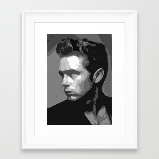 James Dean Framed Art Print