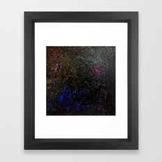 Southern Constellations Framed Art Print