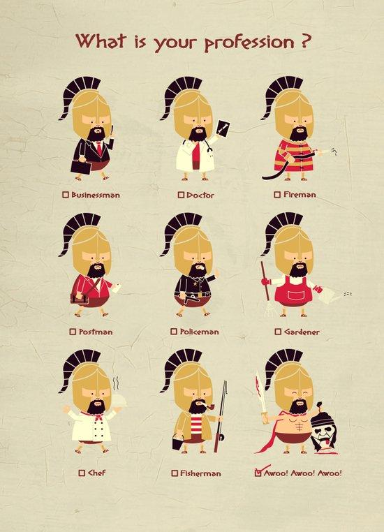Spartan Career Test Canvas Print