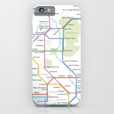 Middle Earth Transit Map iPhone 6 Slim Case