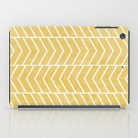 Yellow Chevron iPad Case