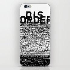 Dis-order iPhone & iPod Skin