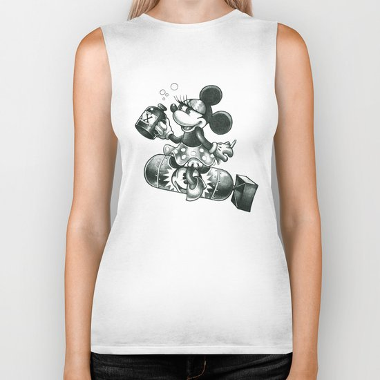 BOMBS AWAY Biker Tank