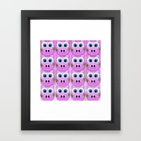Dirty Little Piggies Framed Art Print