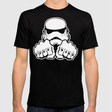 Dark Side Knuckle SMALL Black Mens Fitted Tee