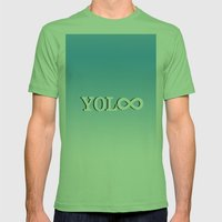 You Only Live Forever—Part II Mens Fitted Tee Grass SMALL